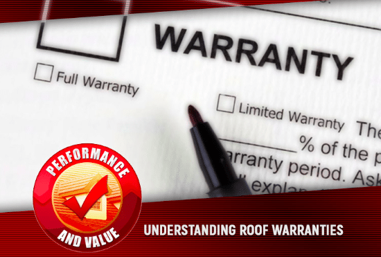 why roofing warranties matter