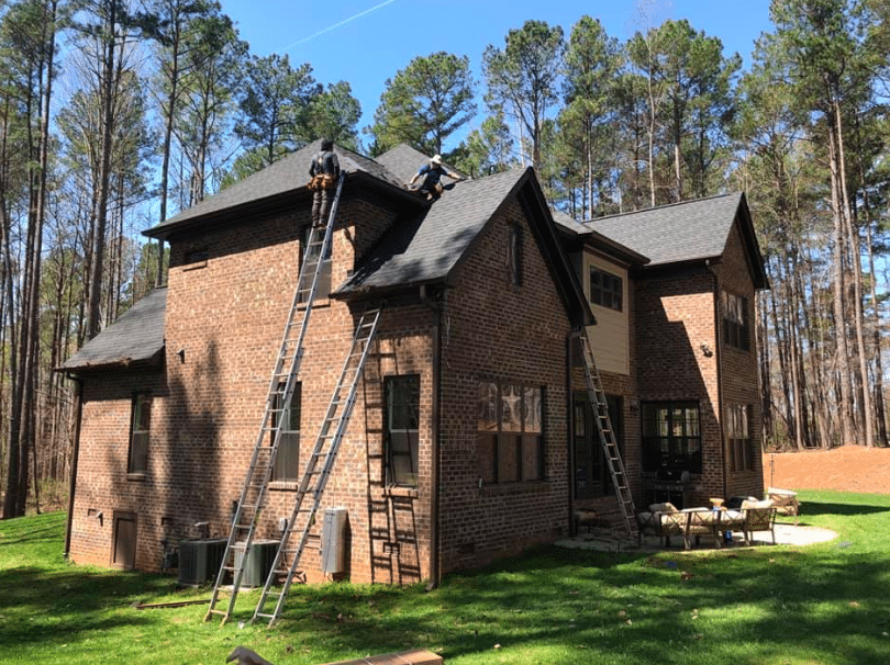 lake norman roof replacement completion